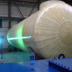 紫外線硬化型FRPシート タンクの腐食対策